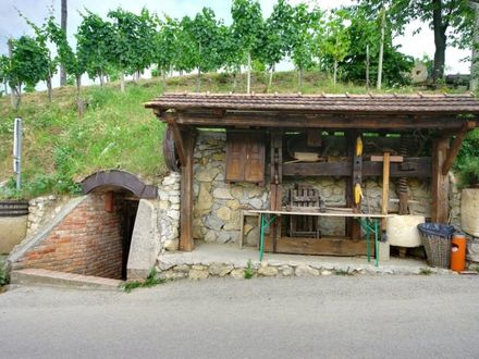 Najger wine cellar and repnica, Bizeljsko