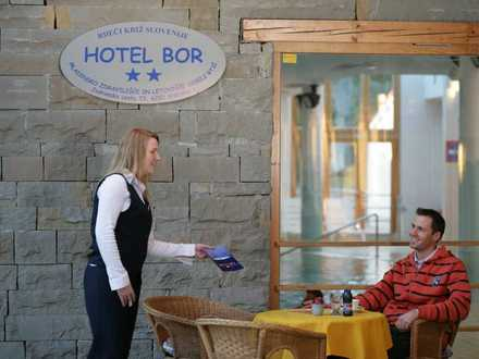 Kurort Debeli Rtič - Hotel Bor**, Küste