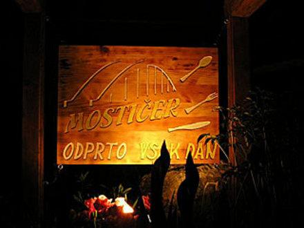 Gasthaus Mostičer, Idrija