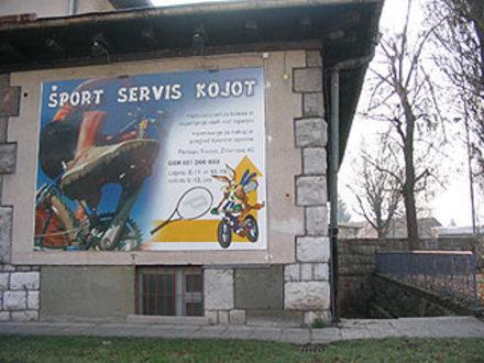 Servis športne opreme Kojot, Ljubljana z okolico