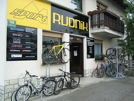 Cycling and skiing equipment Sport Rudnik, Ljubljana and its Surroundings
