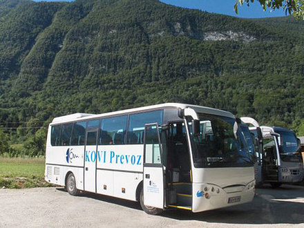 Kovi transportation, Bovec