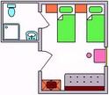 Apartma in sobe Jana, Julijske Alpe