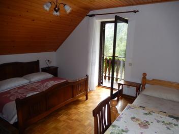 Apartma in sobe Kravanja Trenta, Dolina Soče
