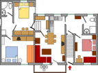 Appartement Zubčič Marija, Bled