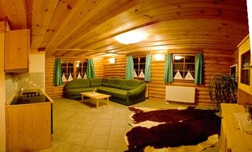 Ökologische Holzhäuser Campingplatz Koren, Kobarid