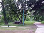 Camping area Korada , Kanal