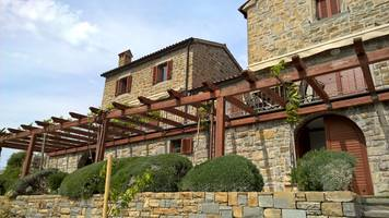 Istrian stone houses Padna, Coast