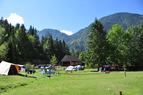 Campingplatz Jelinc , Soča Tal