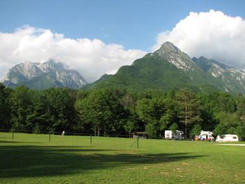 Kamp Liza, Bovec, Bovec