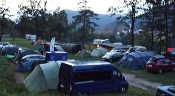 Camp Perun Lipce, Julian Alps