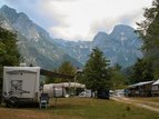 Campeggio Triglav, Valle dell' Isonzo