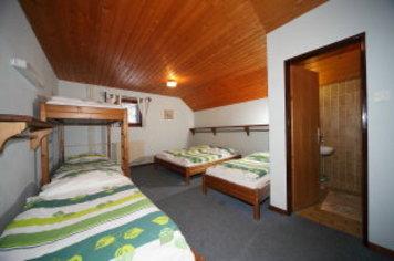 Hütte na Gozdu, Die Julischen Alpe