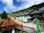 Alpine dairy farm Pr' Florjanu, Julian Alps
